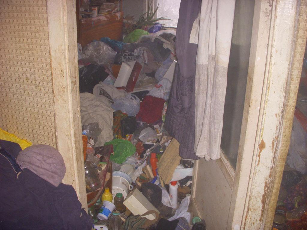 В Могилеве горела квартира-«помойка»