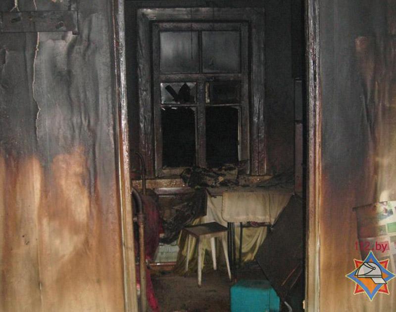 Частный дом в деревне Верейцы Осиповичского района сгорел вместе с хозяином