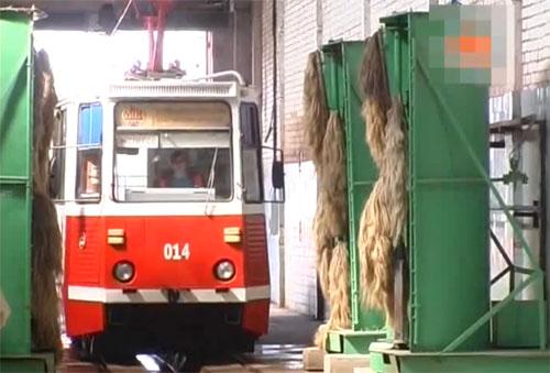 В Мозыре 3 февраля прямо в кабине трамвая, который остановился на разворотном кольце около деревни Пеньки Мозырского района, умерла 54-летняя водитель