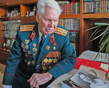ветеран, герой советского союза, кустов