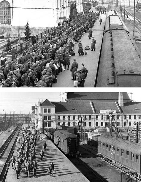 Брест. Героическая оборона Брестского вокзала