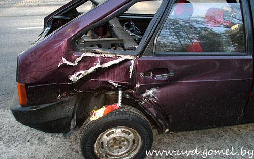 В Хойникском районе водителя с 4,1 промилле алкоголя остановили выстрелами