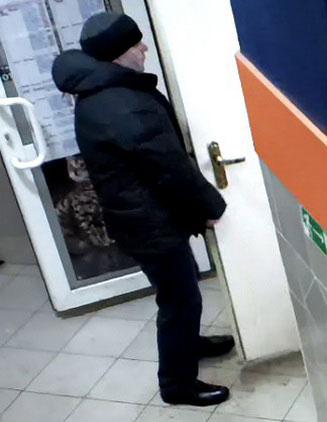 Разыскивается похитивший крупную сумму из обменника в Минске