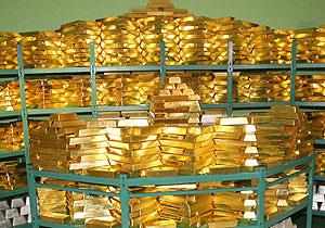 За 2013 год золотой запас Нацбанка Беларуси вырос на 1,7 т, сейчас он составляет (по данным на 1 января 2014 года) 35 т