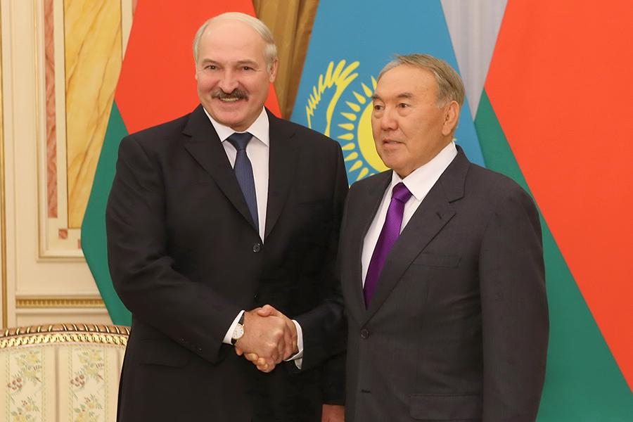 Отношения Белоруссии иКазахстана вышли навысокий уровень— Назарбаев