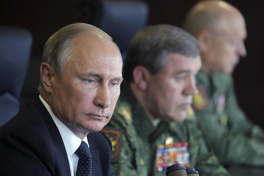 Путин свяжется судмуртией, где уничтожен последний химический боезаряд