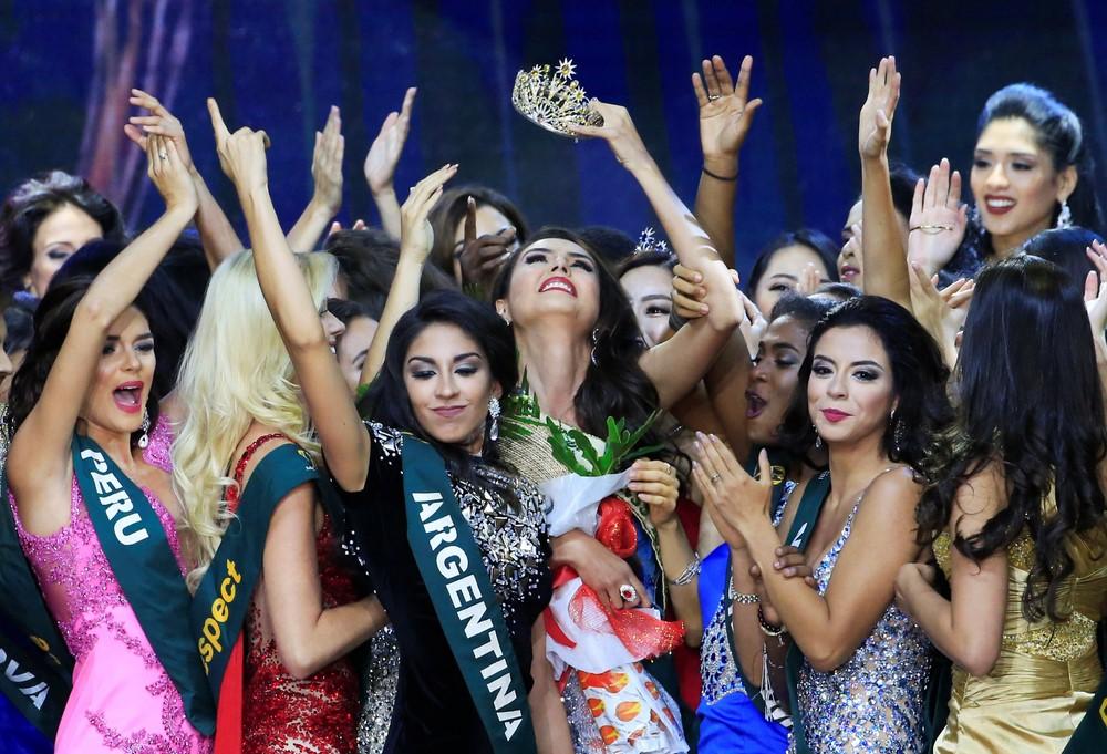 Свежей «Мисс Земля» стала жительница Эквадора