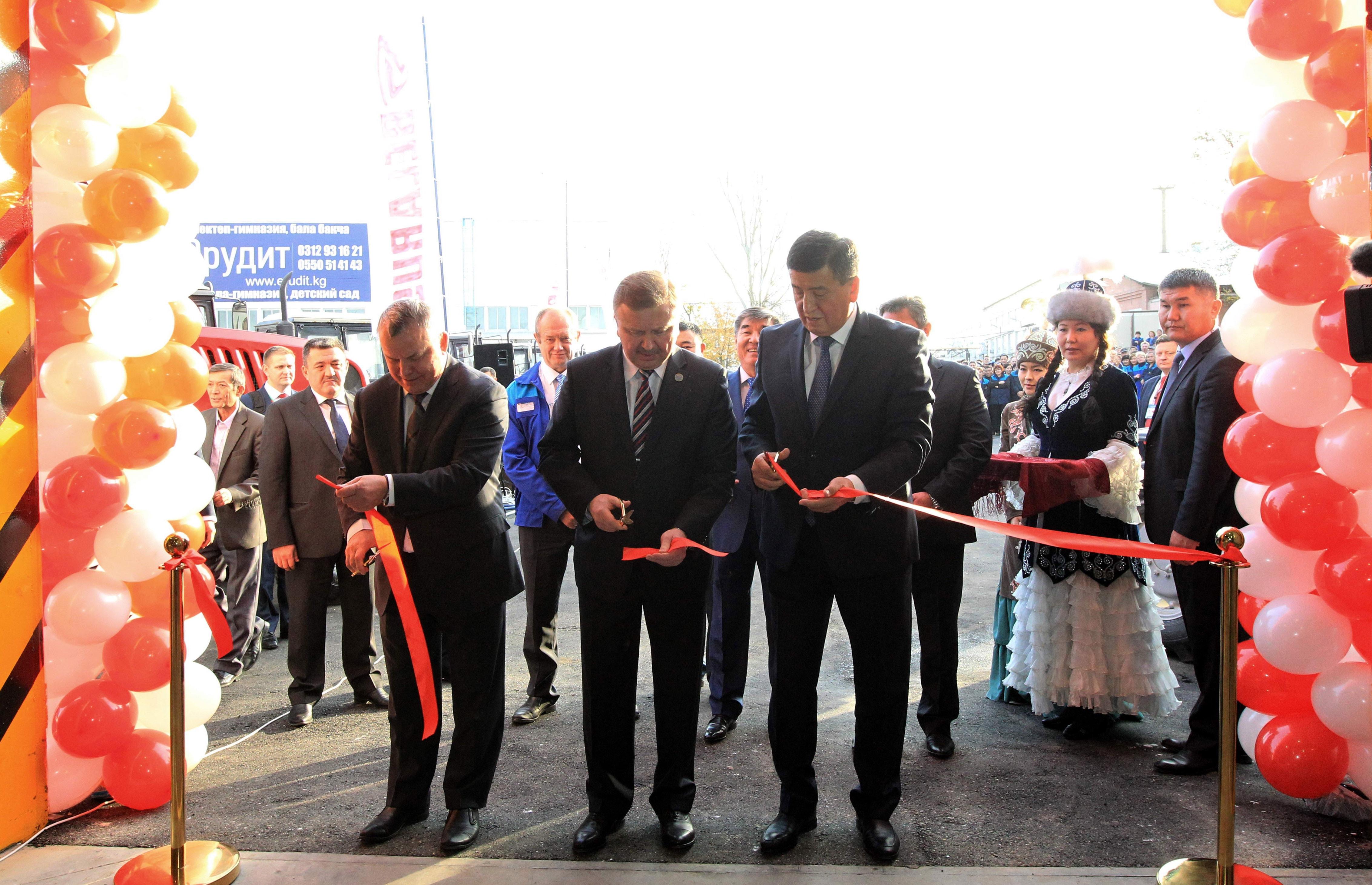 Беларусь иКыргызстан возобновляют сборку тракторов вБишкеке