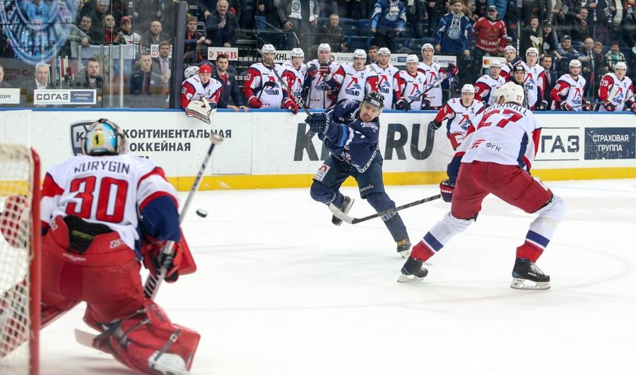 «Локомотив» обыграл минское «Динамо» и одержал победу серию срезультатом 4-1