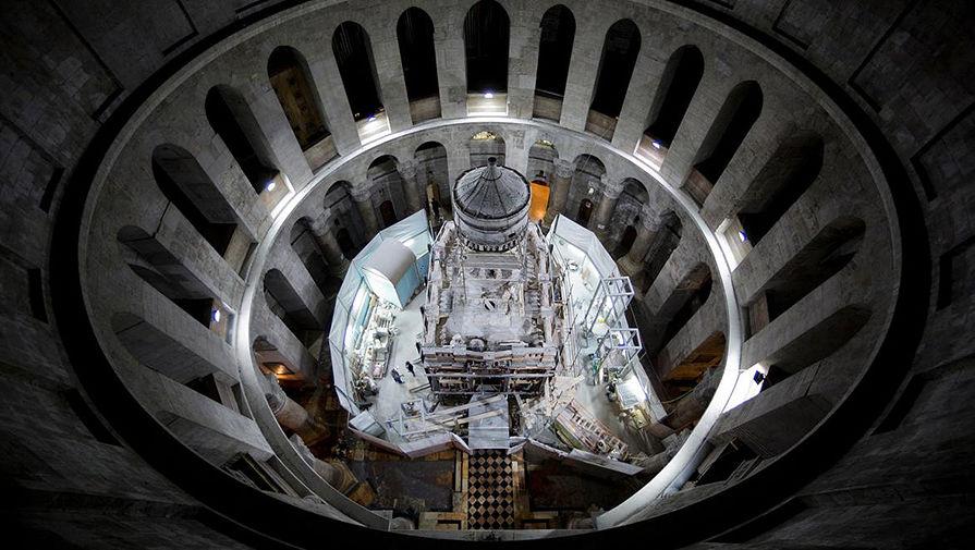 Ученые отыскали новое подтверждение подлинности гробницы Христа в монастыре Гроба Господня