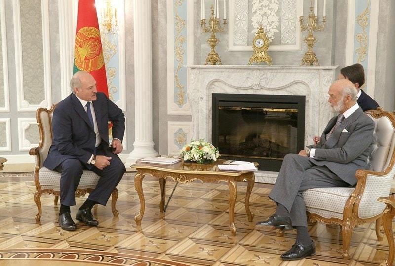 Лукашенко встретил Майкла Кентского впозе просителя