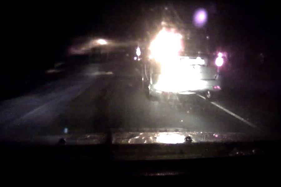 Гаишники 30 километров преследовали нетрезвого водителя под Любанью
