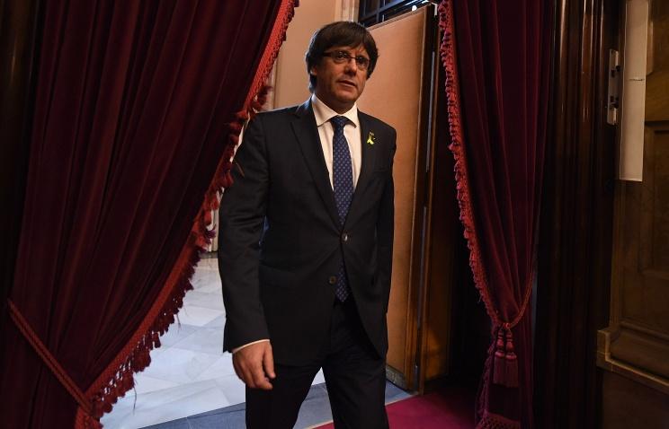 Верховный суд Испании отменил ордер наарест экс-президента Каталонии
