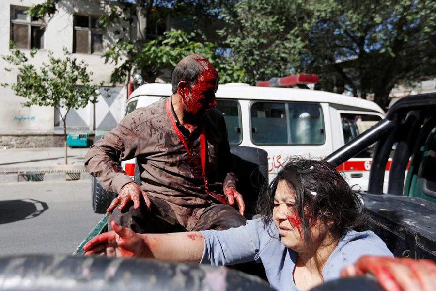 ИГвзяла насебя ответственность завзрыв вАфганистане