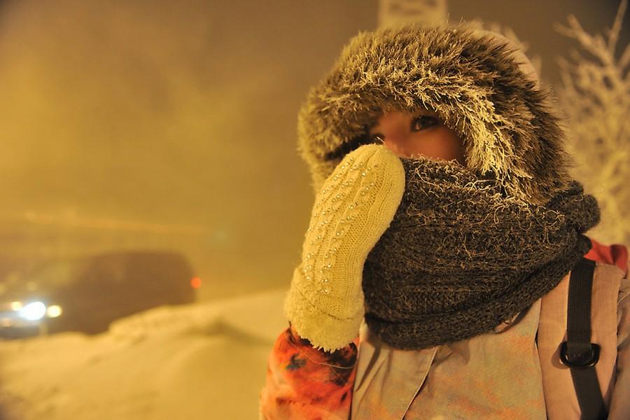 Оранжевый уровень опасности объявлен насубботу 24февраля— Мороз крепчает