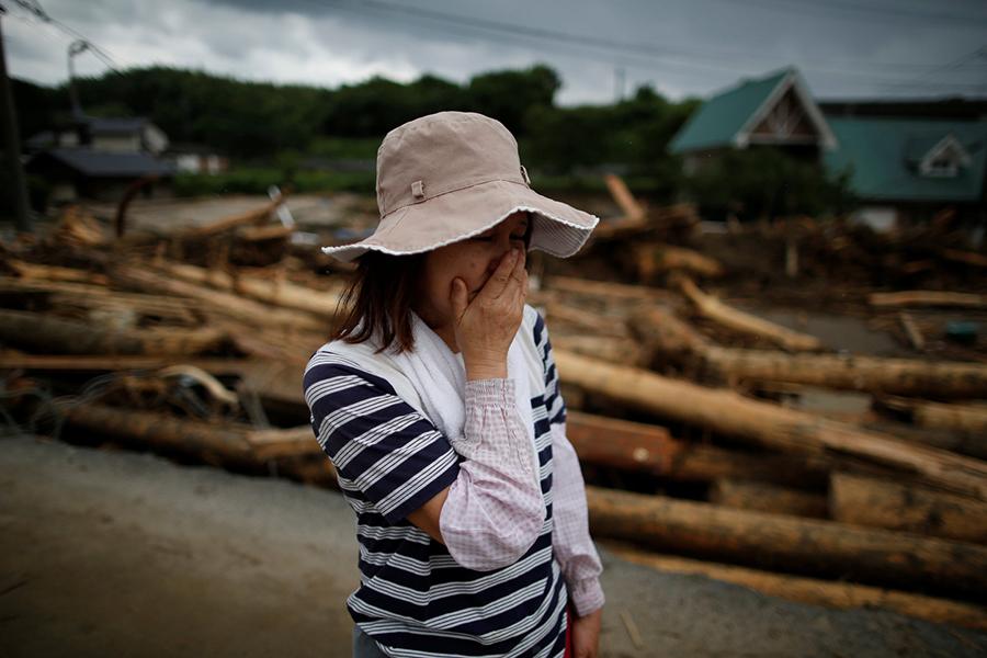ВЯпонии из-за жары занеделю погибли шесть человек