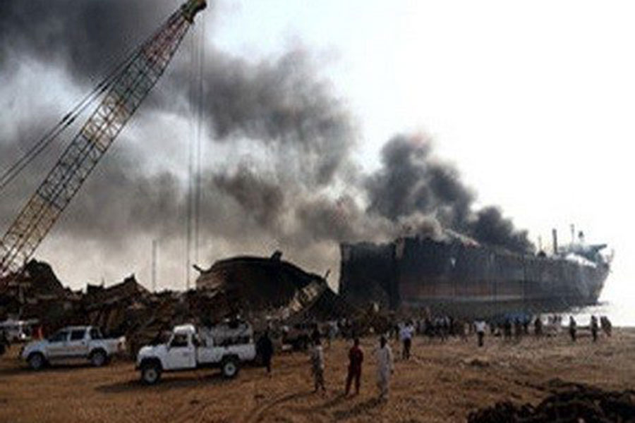 Вколумбийском порту произошла серия взрывов, есть погибшие