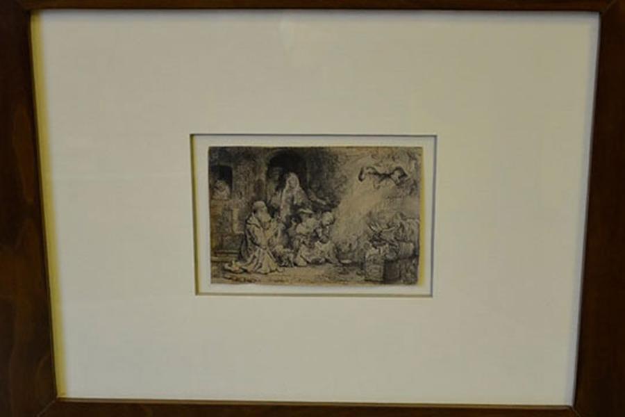 ВМинске открывается самая масштабная выставка гравюр Рембрандта