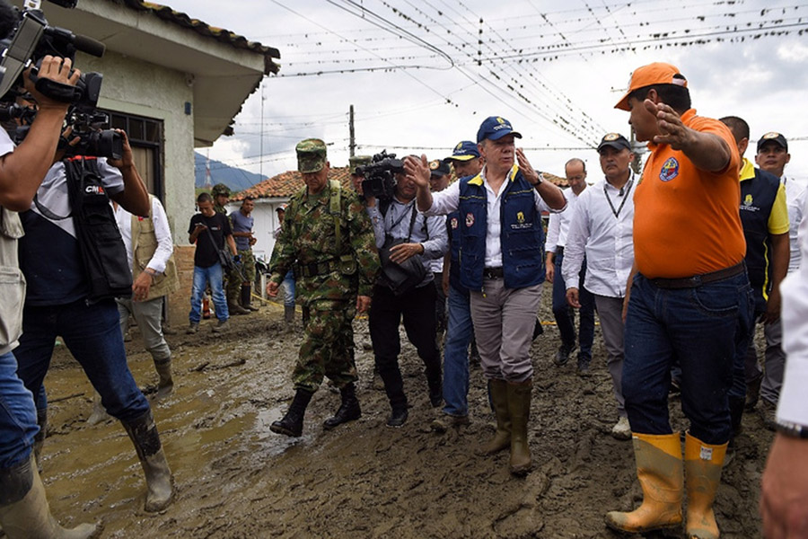 ВКолумбии из-за схода селя погибли 4 человека
