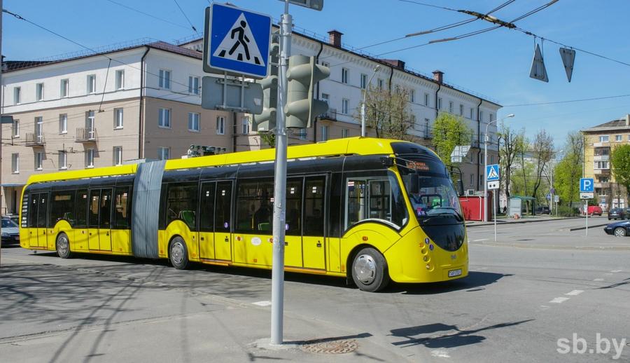 Еще 60 электробусов планируют закупить вМинске кЕвроиграм