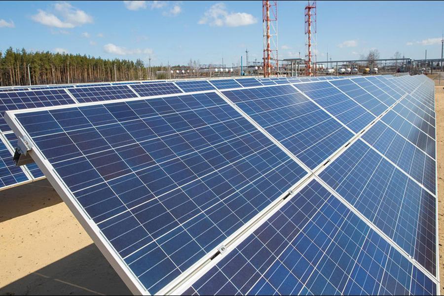 ВРечицком районе открыли наибольшую вРеспублике Беларусь солнечную электростанцию