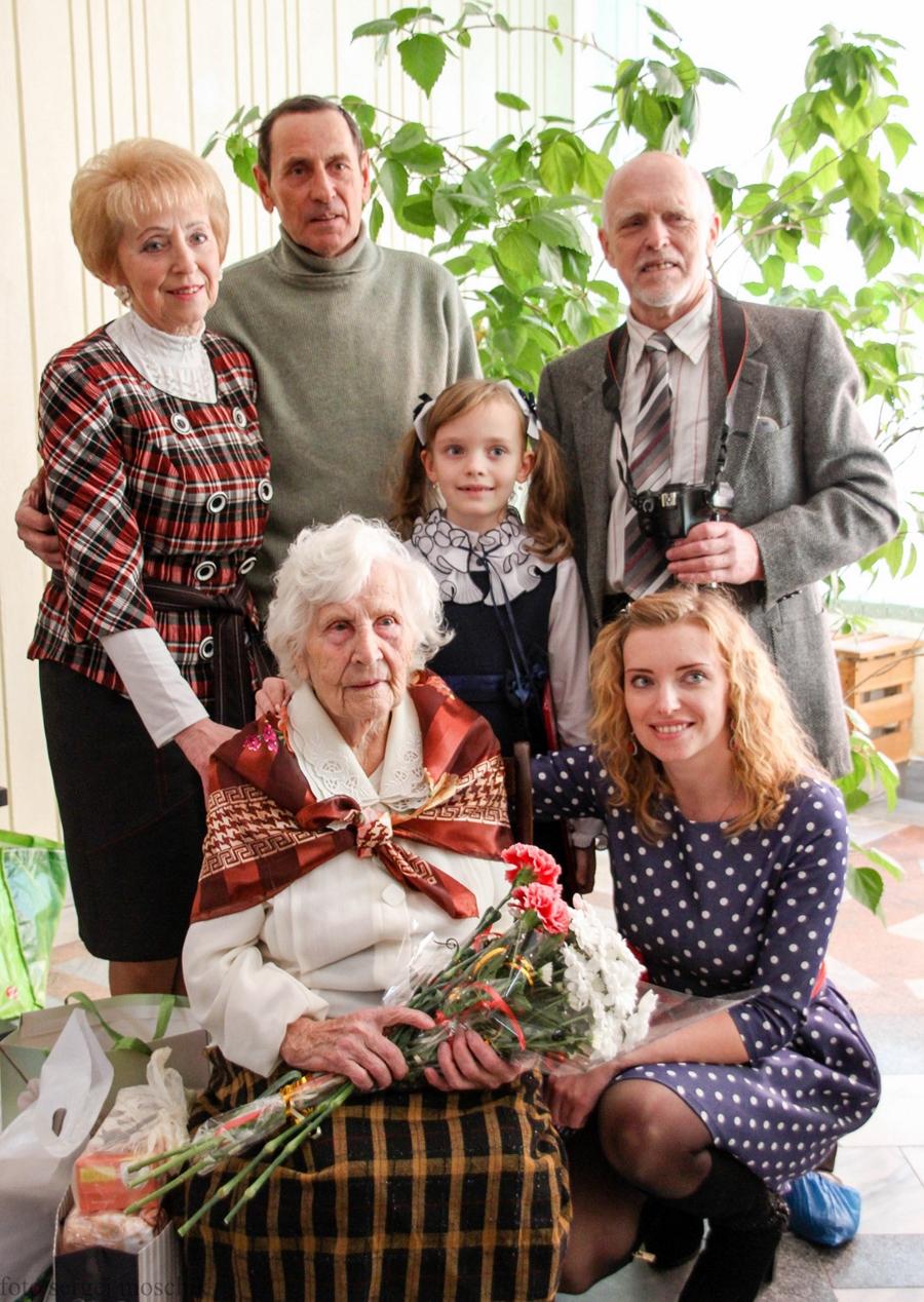 Столетняя брестчанка Екатерина Боженова работала до 80 лет без больничных листов
