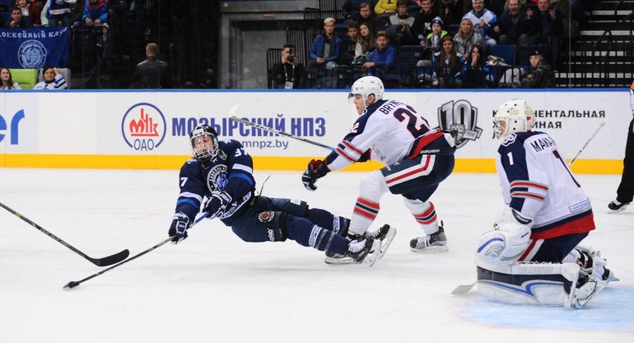 Минское «Динамо» победило вдомашнем матче «Нефтехимик»