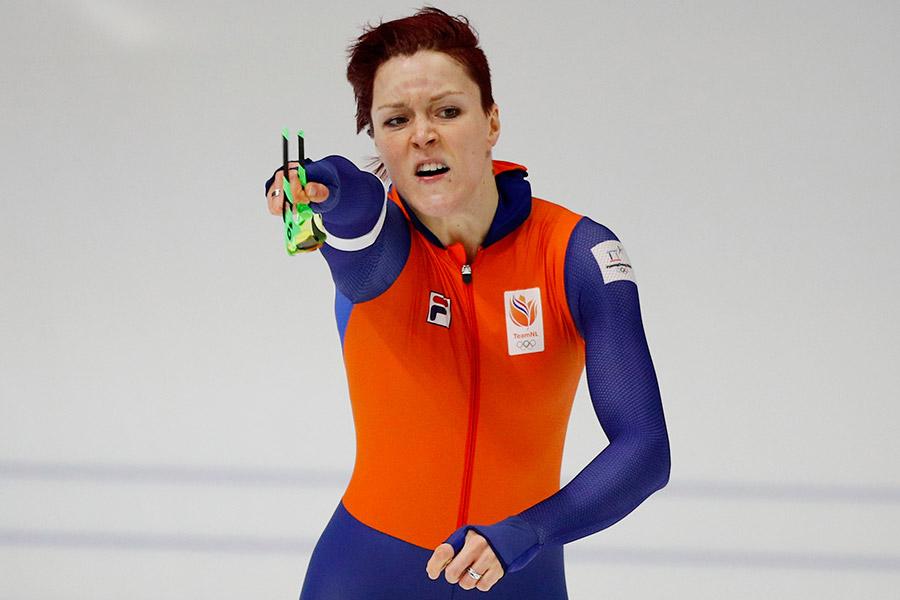 Голландия выиграла очередное золото Олимпиады вконькобежном спорте