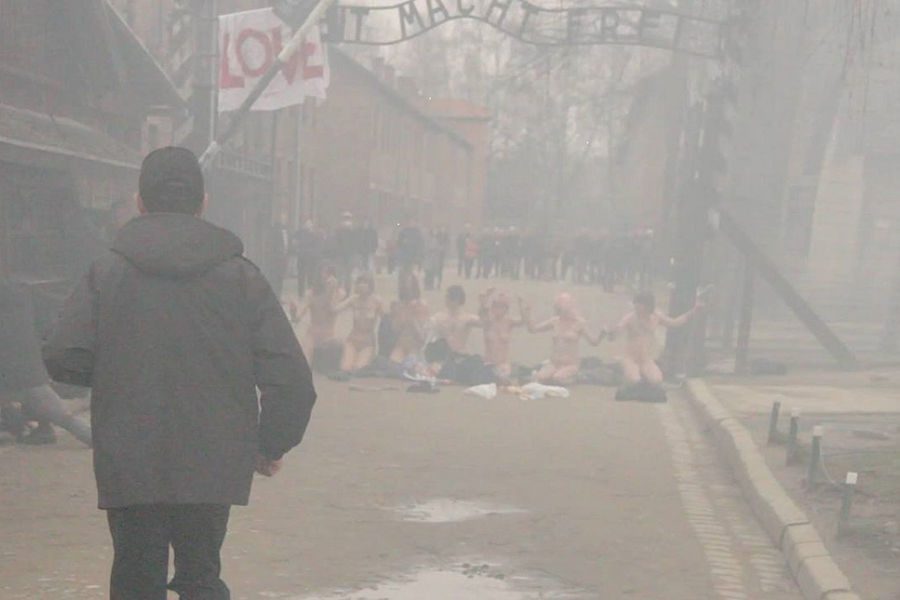 Убийцам барана уворот Освенцима грозят настоящие сроки