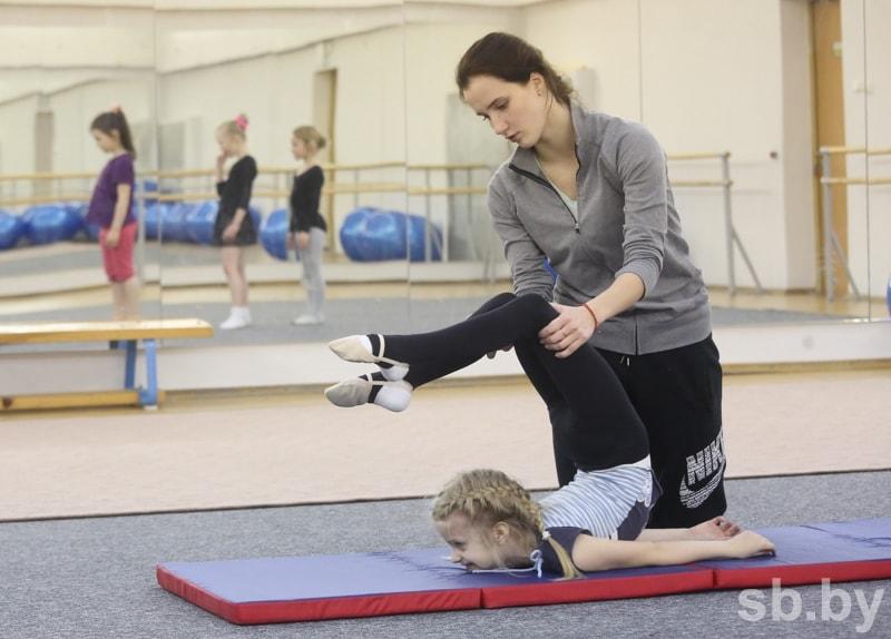 Сама у себя гимнастка фото 507-16