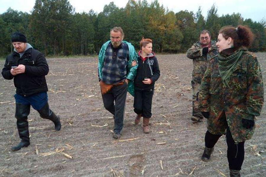 В республики Белоруссии  найден мужчина, который пропал влесу два месяца назад
