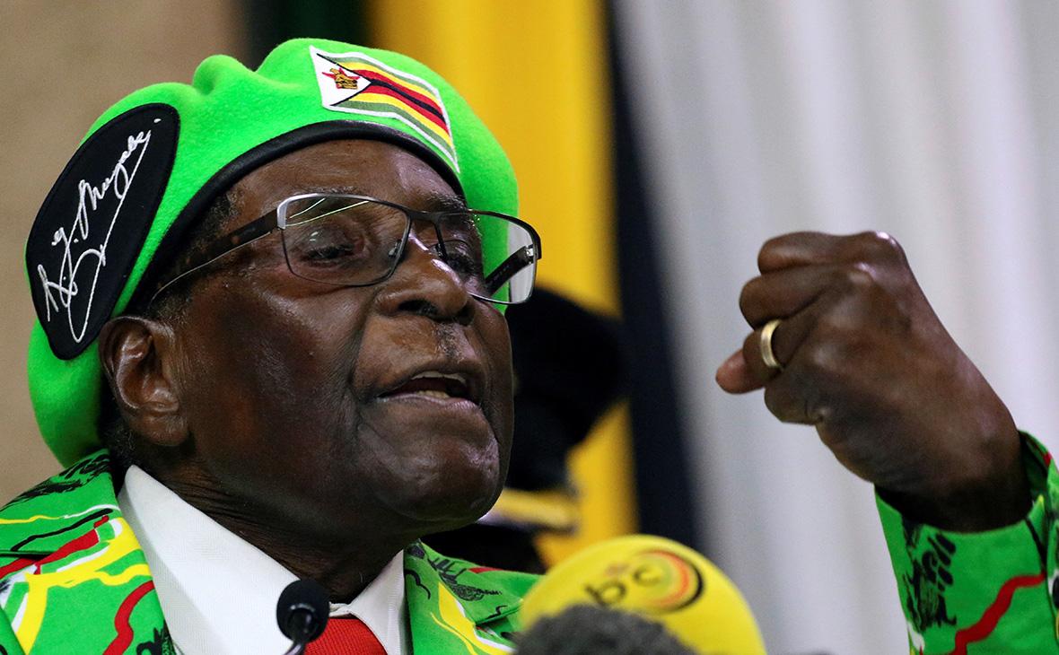 Военные вЗимбабве объявили озахвате власти вгосударстве