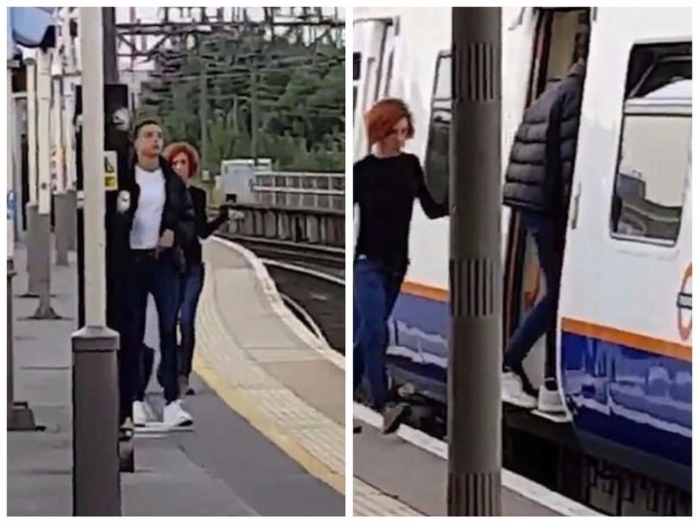 В берлине пара занялась сексом на платформе в метро