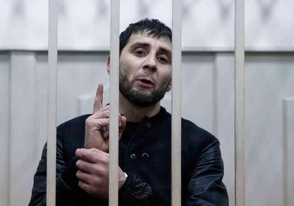 Убийца Немцова сядет на20 лет