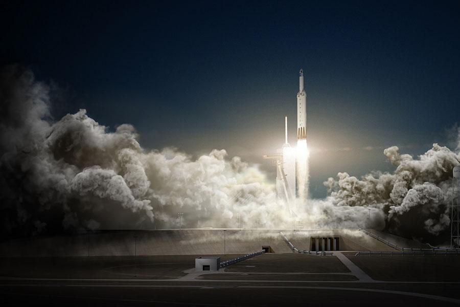 SpaceX отложила первый запуск грузовика Dragon на Марс на два года