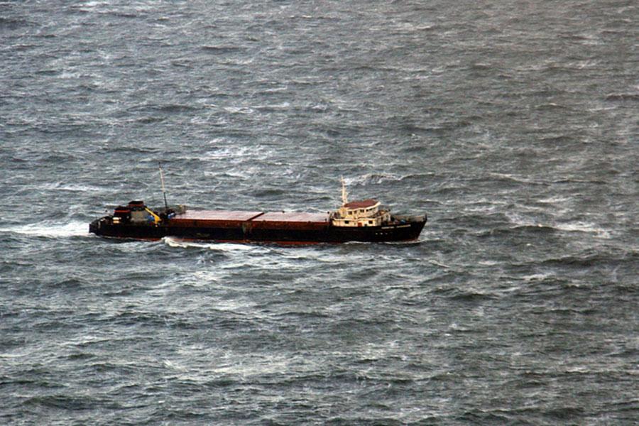 Назатонувшем вЧерном море сухогрузе находились украинцы