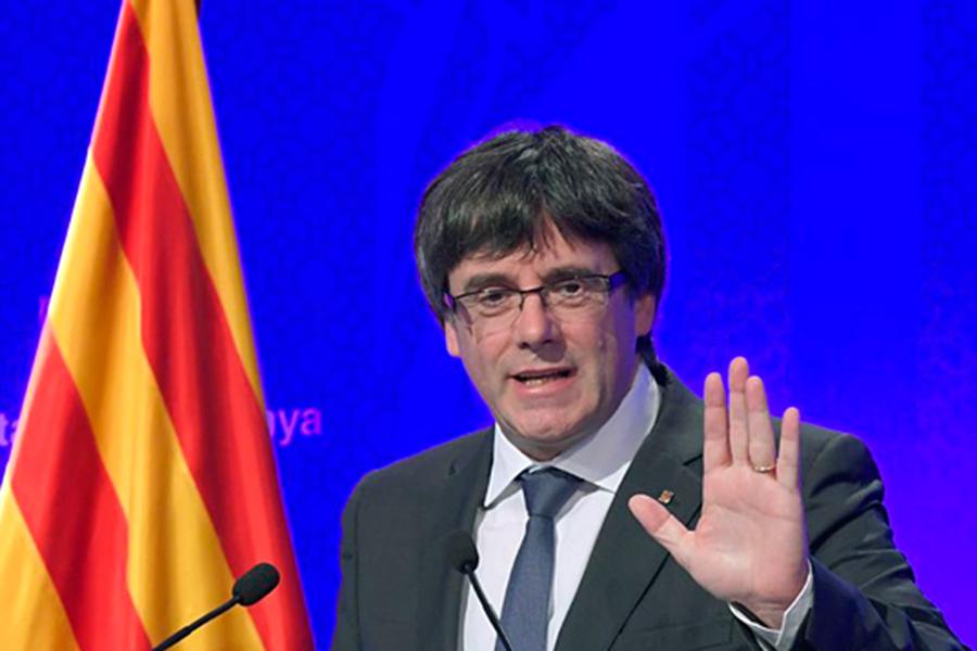 ВКаталонии протестуют против независимости