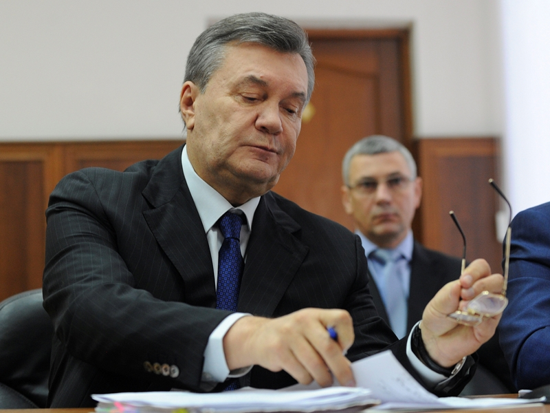 Янукович представил материалы, которые могут перевернуть дело оМайдане