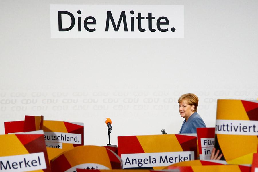 Победа Меркель икрайне правые вБундестаге— Выборы вГермании