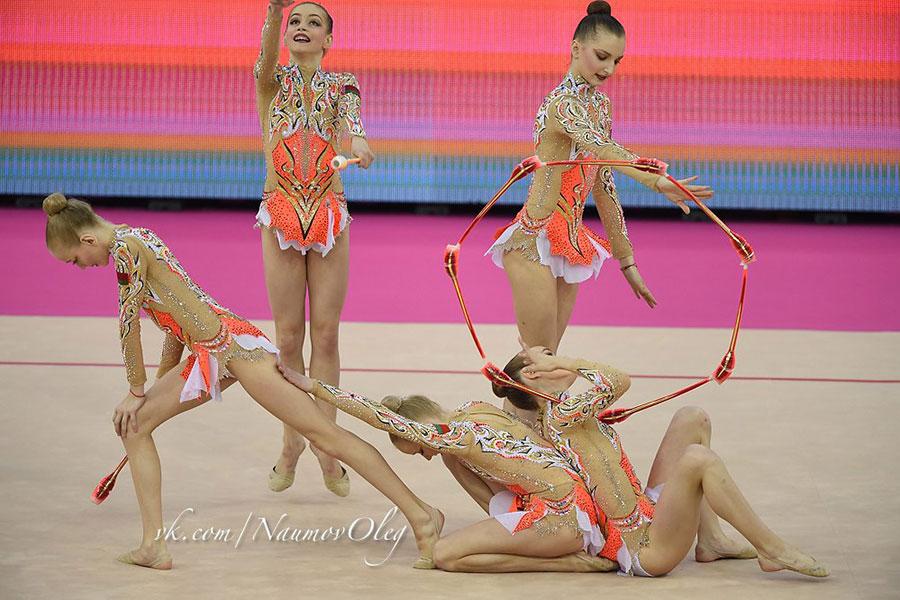 Арина Аверина впервый раз стала чемпионкой Европы похудожественной гимнастике