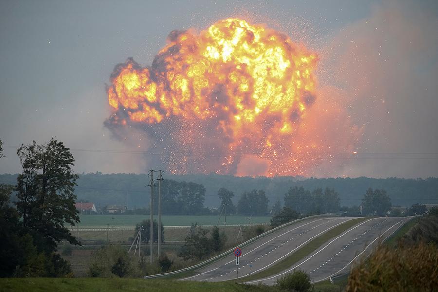 Пожар вКалиновке локализован, последующего еераспространения не предполагается — М.Чечоткин