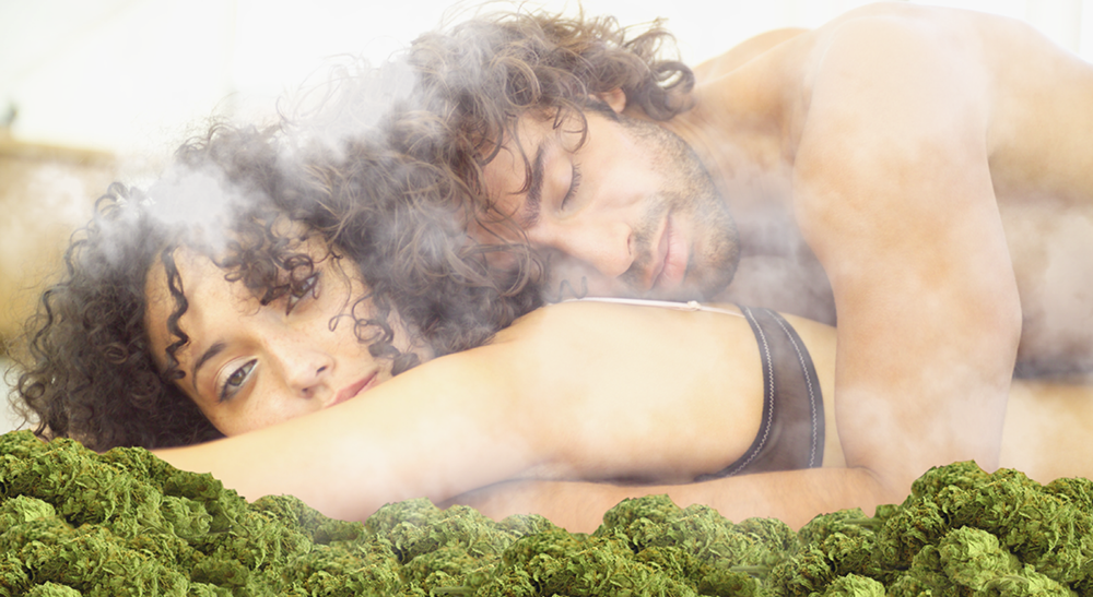 Секс марихуана