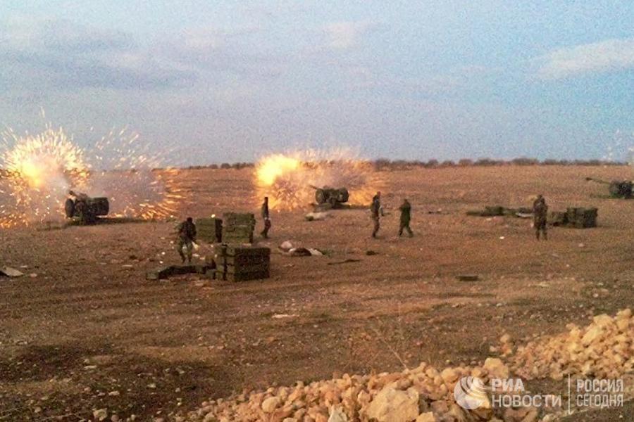 ВВС Израиля ударили повойскам Сирии вответ наслучайный обстрел