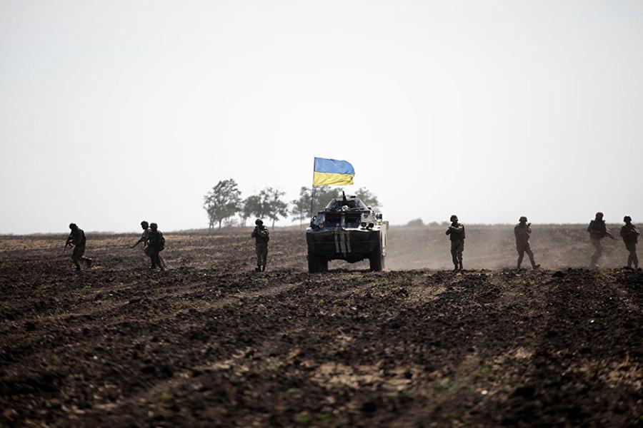 ВДонбассе угодила под обстрел съемочная группа «России 24»