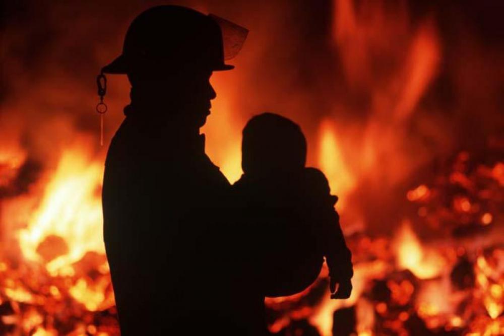 Двухлетняя малышка пострадала напожаре вобщежитии Новополоцка
