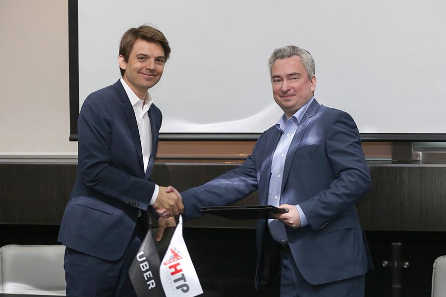 Андрей Кобяков встретился с управлением Uber