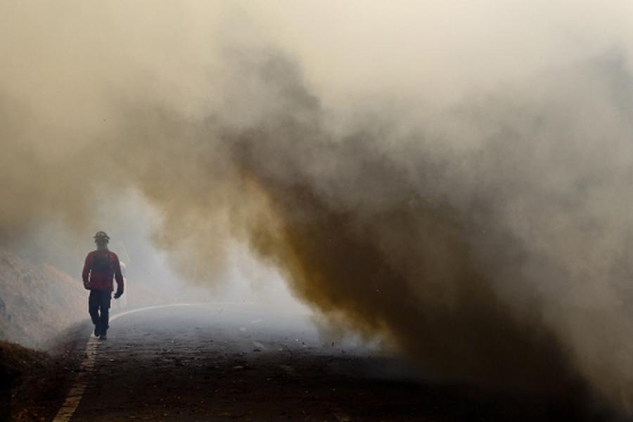 ВПортугалии удалось потушить ужасный пожар