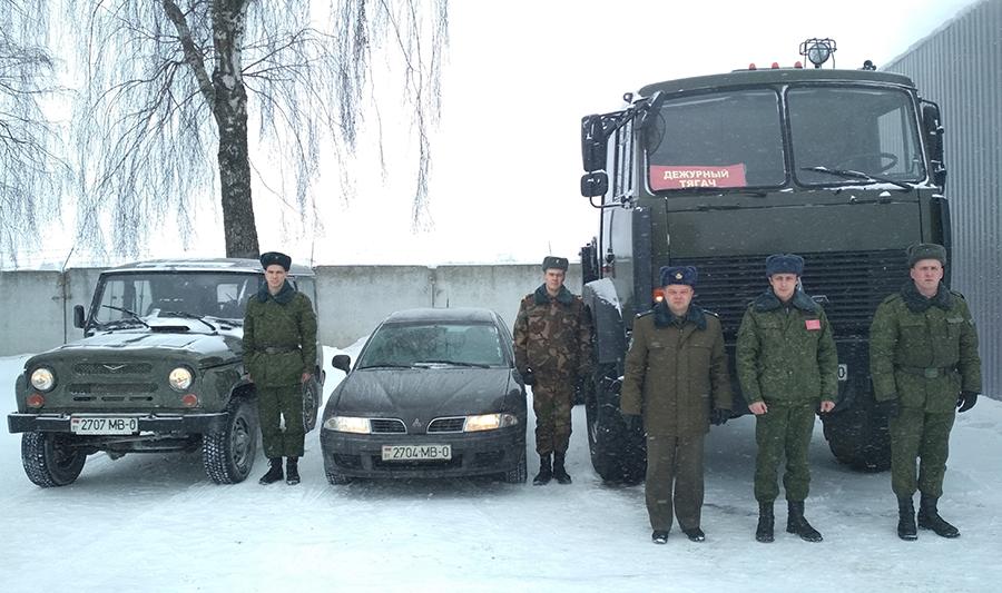 Военные спасли отмороза пассажиров заглохшего натрассе Минск-Слуцк автобуса