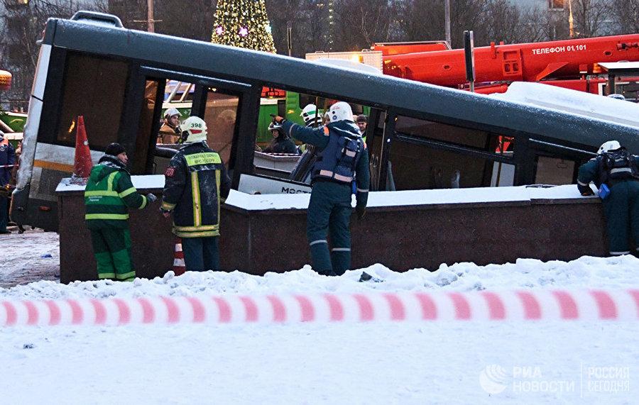 После трагедии Собянин поручил проверить весь автобусный парк столицы