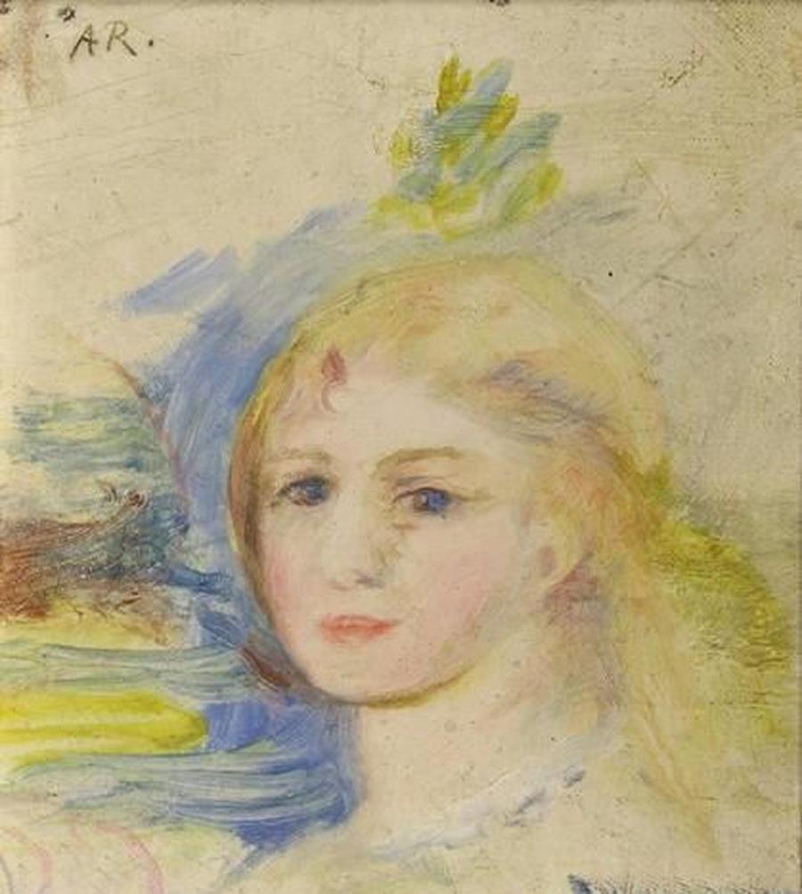 Изаукционного дома воФранции накануне до торгов похитили картину Ренуара